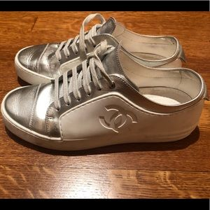Chanel low top sneakers